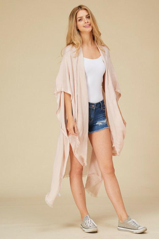 Women's Duster Open Front OS