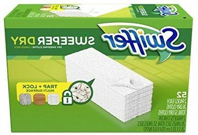Swiffer Refills Floor and Cleaning, Floor Cleaning Product, 52