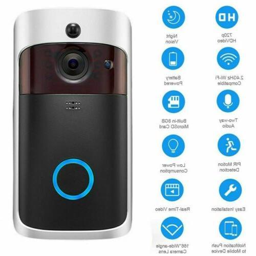 Two-Way Video Door PIR HD Talk Camera