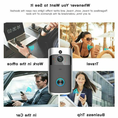 Two-Way Wireless Video Door HD Talk Camera