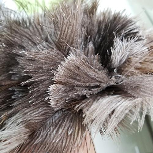 """M-jump 16"""" Ostrich Feather Dusters Feathers with Wood to Dust dust Like Magnet"""