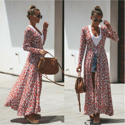 US Floral Duster Loose