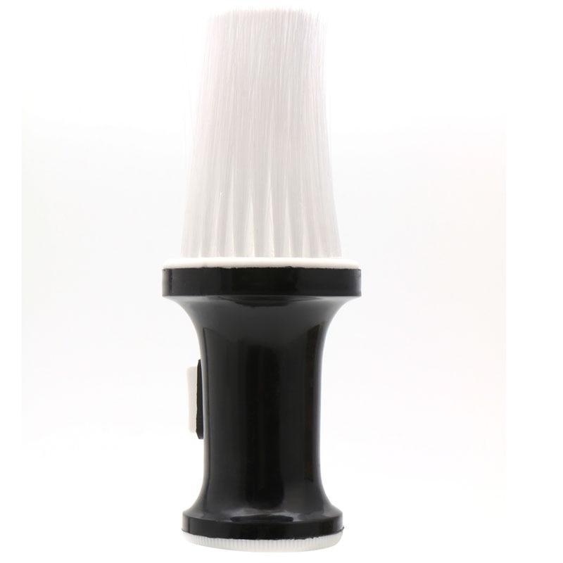 White Black Plastic Hair Salon Neck <font><b>Duster</b></fon