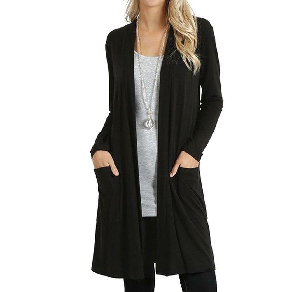 Women's Long Sleeve Coat Jacket