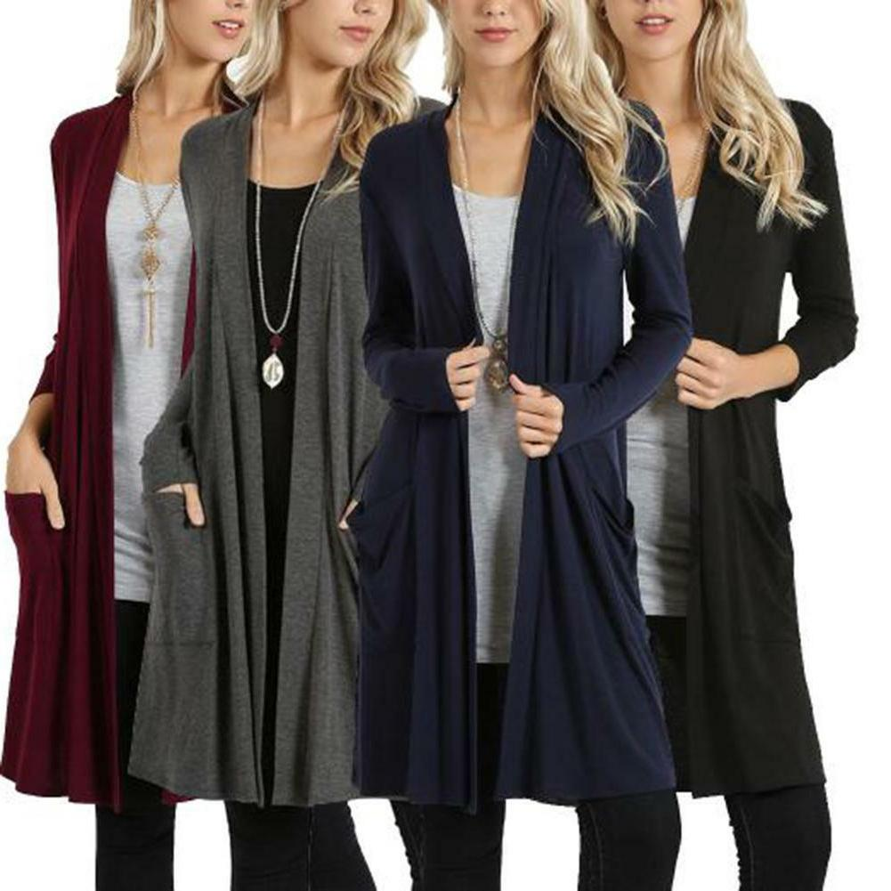 Women's Sweater Front Long