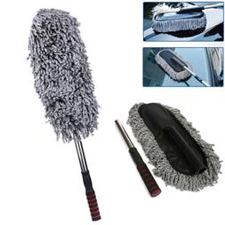 Large Auto Car Truck Telescoping Microfiber Duster Cleaning