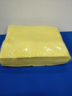 """Large Dust Cloths 13"""" X 17"""" Mineral-oil Treated  Yellow 50 P"""