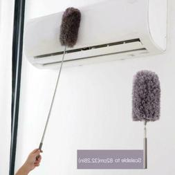 Long Handle Dust Remover Clean Microfiber Feather Duster Ret