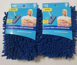 Lot of 2~MR. Clean Microfiber Dust and Mop Refill Cleaning H