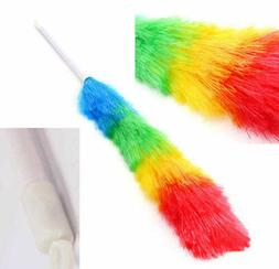 Magic Anti Static Feather Duster Household Handle Cleaning P
