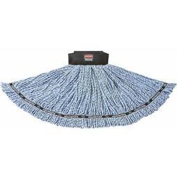 Rubbermaid Commercial Maximizer Mop Head, Blend, Large, Blue
