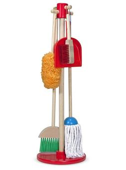 Melissa & Doug, Let's Play House! Dust! Sweep! Mop! Preten