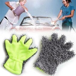 Microfiber Car Window Kitchen Washing Home Cleaning Cloth Du