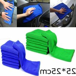 Microfiber Cleaning Auto Car Care Detailing Soft Cloths Wash