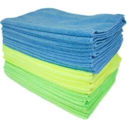 Zwipes Microfiber Cleaning Cloths, Multicolor, 24-Pack NEW