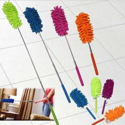 Microfiber Dust Brush Soft Home Cleaning Duster With Extenda