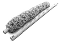 Microfiber Duster with Telescoping Extendable Pole Handle Up