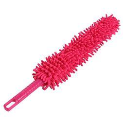 BESTOMZ Microfiber Duster Brush Flexible Cleaning Duster for