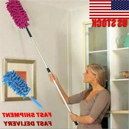 Microfiber Duster Cleaning Brush Dust Cleaner Extendable Han