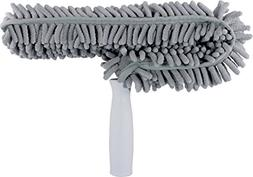 Microfiber Fan Duster, Machine Washable, Gray, Sold as 1 Eac
