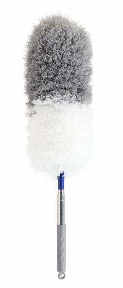 Microfiber Feather Duster with Telescoping Extension Pole/Hy
