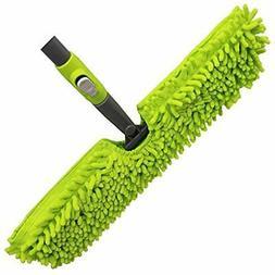 Microfiber Floor Mop-Duster Dual Side Action Wet &lsquoN Dry