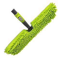Microfiber Floor Mop-Duster | Dual Side Action Wet 'N Dry
