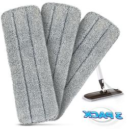 Microfiber Mop Pads , Reusable Absorbent  for Wet, Dry & Dus