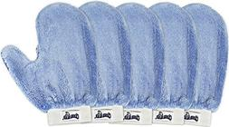 CleanAide® Microfiber Terry Weave Mitt with Thumb 5 Pack