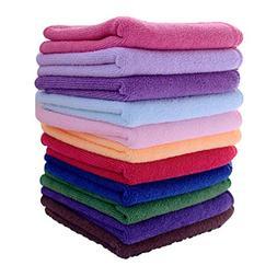 Babnane 10 Pcs Multifunctional Microfibre Towel Cleaning Clo