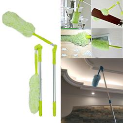 New Pure Care Microfiber Feather Duster With Extension Pole