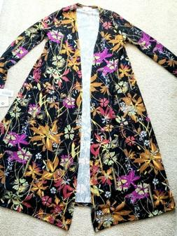 NWT LuLaRoe Sarah Long Cardigan Duster XSmall XS NWT Floral