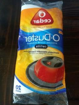 O Cedar O-Duster Robotic Floor Cleaner Refills~Disposable Cl