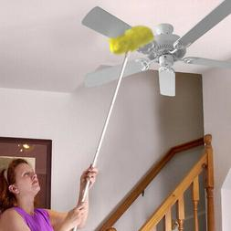 Evelots Removable & Washable Ceiling Fan Duster - Up to 47""