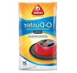 Robotic Vacuum Floor Cleaner O-Duster Refills 20 Pack Dispos
