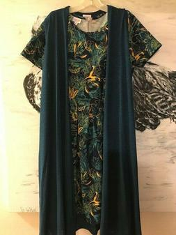 LuLaRoe SET GORGEOUS COLORS Amelia Women's Dress Joy Long Ve