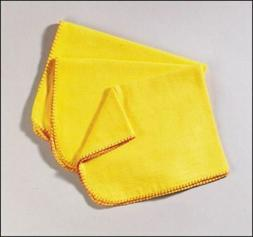 Abbey Standard Yellow Polishing Duster Cleaning Cloths Pack