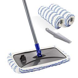 Mastertop Large Surface Microfiber Flat Mop 360 Degree Used