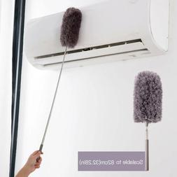 Long Handle Dust Remover Cleaning Microfiber Feather Duster