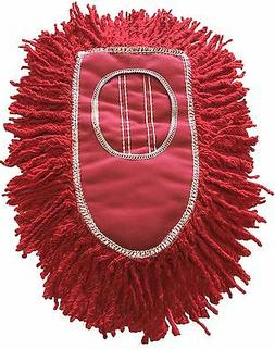 Triangle Dust Mop Heads - PACK OF 4 - Red