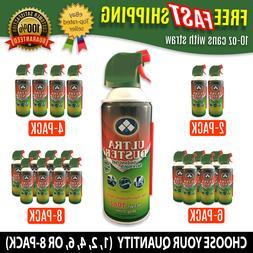 ULTRA Multi-Purpose Duster 10oz Air Spray Cleaner Laptop Des