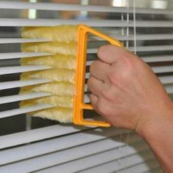 US Mini Hand-held Cleaner Venetian Blind Brush Window Air Co