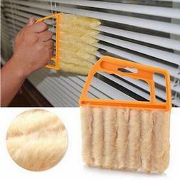 Washable Microfiber 7Hand Window Mini-blind Cleaning Brush C