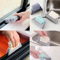 Window Blinds Groove Duster Hand-Held Groove Gap Cleaning Br