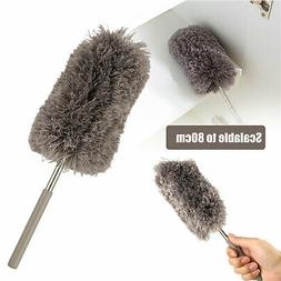 Adjustable Soft Microfiber Feather Duster Dusting Brush Hous