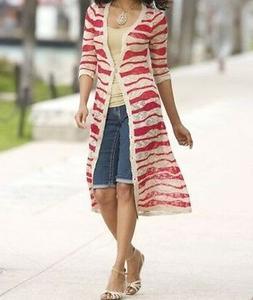 Women's Boardwalks Summer Fall Light long Sweater cardigan j